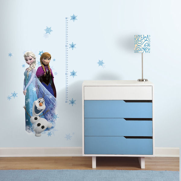 Disney Frozen Peel and Stick Growth Chart - Wall Sticker Outlet