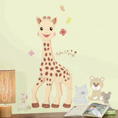 Sophie La Girafe Giant Peel and Stick Wall Decal