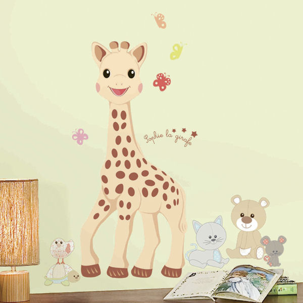Sophie La Girafe Giant Peel and Stick Wall Decal - Wall Sticker Outlet