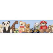 My Favorite Teddy Bear SB7639BD Wallpaper Border