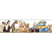 My Favorite Teddy Bear SB7640BD Wallpaper Border
