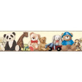 My Favorite Teddy Bear SB7641BD Wallpaper Border