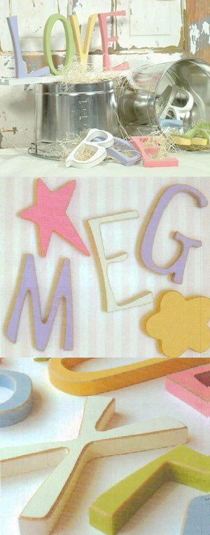 Funky Colored Wall Letters - Large - Kids Wall Decor Store