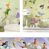 Tinker Bell Decals Complete Room Package