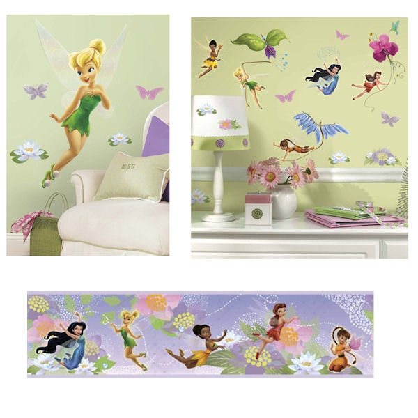 Tinker Bell Decals Complete Room Package - Wall Sticker Outlet