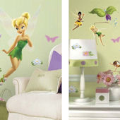 Tinker Bell Giant Decal Room Package