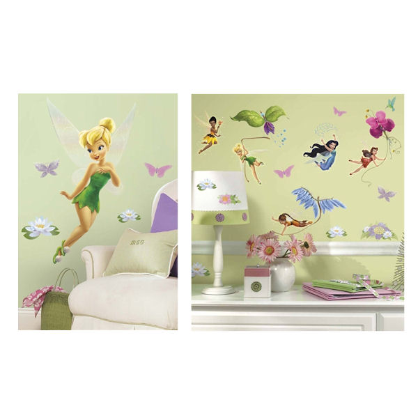 Tinker Bell Giant Decal Room Package - Wall Sticker Outlet
