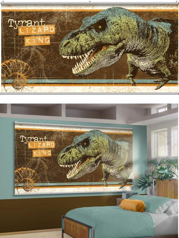 Tyrant Lizard King Wall Minute Mural - Wall Sticker Outlet