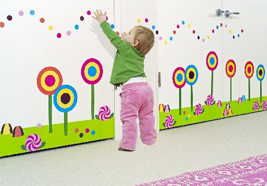 Candy Factory Wallcandy - Wall Sticker Outlet