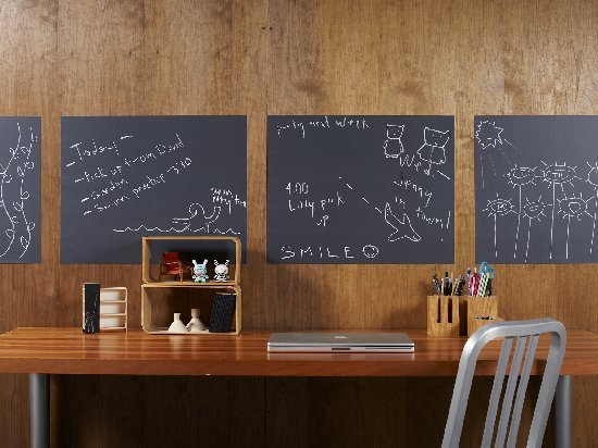 Chalkboard Wallcandy Set 4 Peel and Stick Panels - Wall Sticker Outlet