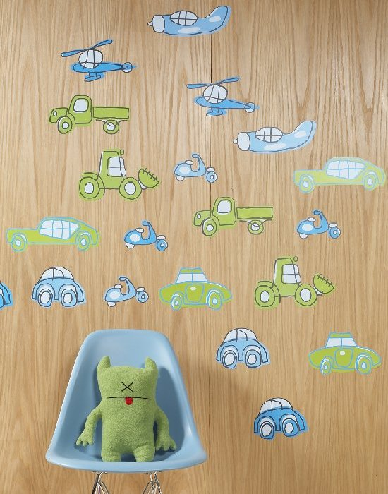 Transport Wallcandy - Kids Wall Decor Store