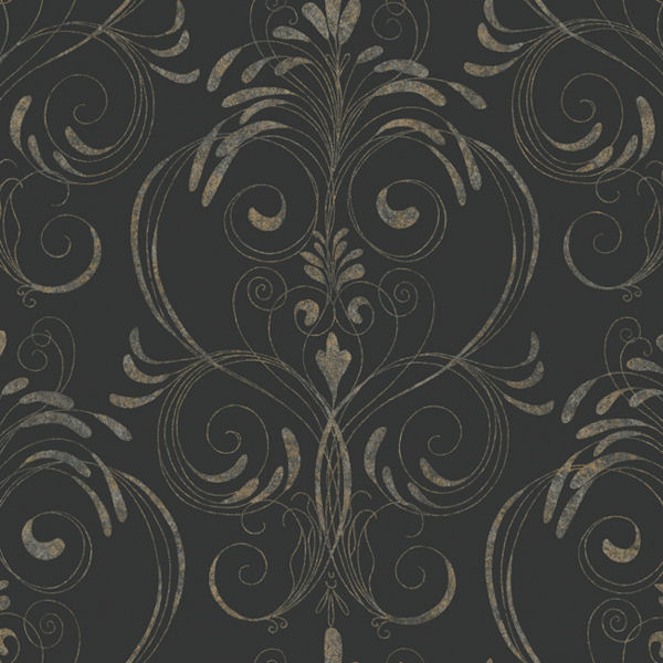 Black And Gold Enchanting Wallpaper