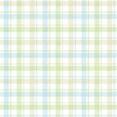 Woven Plaid Blue Prepasted Wallpaper