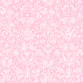 Distressed Damask Pink Prepasted Wallpaper