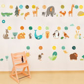 A through Z Giant Wall Decals