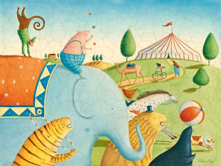 Circus Parade - Kids Wall Decor Store