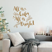 Urbanwalls All Is Calm Wall Decal
