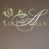 Butterfly Signature Wall Decal Sticker