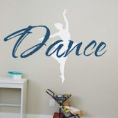 Just Dance Vinyl Wall Decal