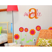 Annelies Monogram Wall Decal Sticker