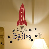 Baileys Rocket Wall Sticker Decal
