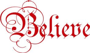 Believe Wall Sticker Decal - Wall Sticker Outlet