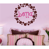 Bellas Dots Wall Sticker Decal