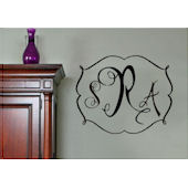 Darling Monogram Wall Sticker Decal