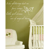 Fairy Dust Wall Decal Sticker