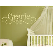 Gracies Personalized Wall Sticker Decal