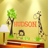 Its a Jungle Out There Wall Sticker Decal