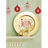 Love Peace and Joy Wall Sticker Decal