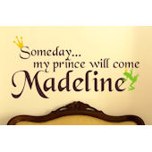 Someday My Prince Will Come Wall Sticker Decal