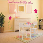 Thank Heaven Wall Sticker Decal