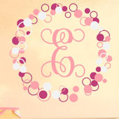 Single Fancy Dots and Circles Wall Sticker