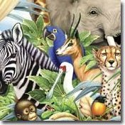 Jungle Safari Wall Decals