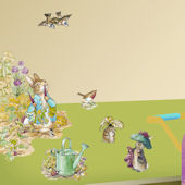 Art Applique Beatrix Potter Wall Sticker