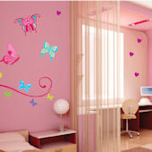 Art Applique Butterflies Wall Sticker