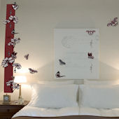 Art Applique Butterfly Design Wall Sticker