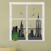 Art Applique NYC Trompe Loeil Wall Sticker SALE