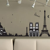 Art Applique Paris Wall Sticker