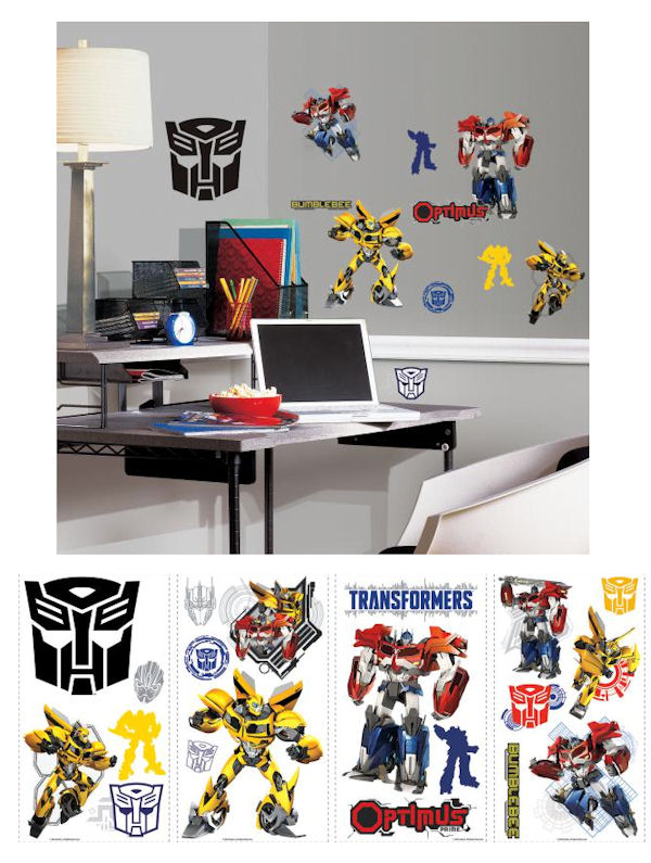 Transformers Autobots Peel and Stick Wall Decals - Wall Sticker Outlet