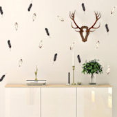 Urbanwalls Autumn Feathers Wall Decals