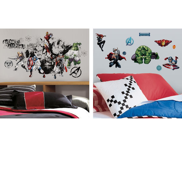 Avengers Assemble Decal Room Package #1 - Wall Sticker Outlet