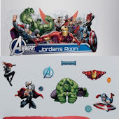 Avengers Assemble Decal Room Package #2