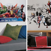 Avengers Assemble Decal Room Package #3