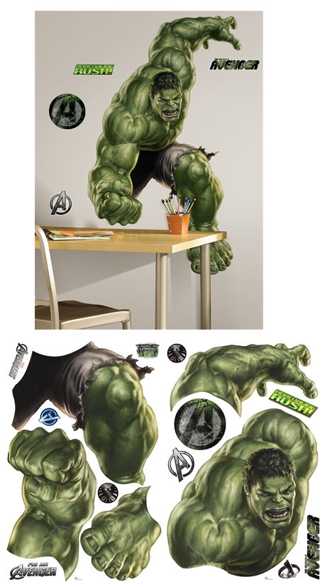 Avengers hulk wall sticker 2 for 20 · marvel