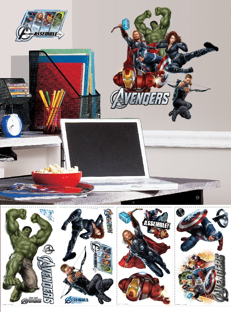 The Avengers Movie Wall Decals  - Wall Sticker Outlet