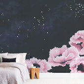 Minted Awakening Repositionable Wall Mural
