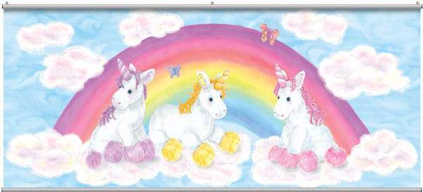 Baby Unicorn Minute Mural - Wall Sticker Outlet